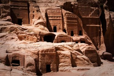Tombs of Petra by ruthsantcortis