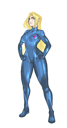 Zero Suit Samus by KenjaNo1