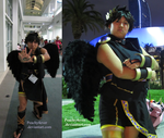 My Dark Pit Cosplay for Anime Expo 2013 by Peachy4ever