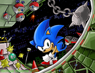 Sonic Fix: Star Light Zone by gsilverfish