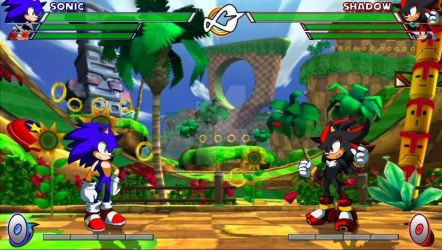 Sonic Fighter Mock-Up Image by Gaiamuth