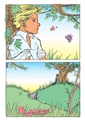 The Waiting Tree - p 02 colour by GLau