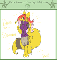 Pokemon Swap Meme- Daiyu the Kadabra!