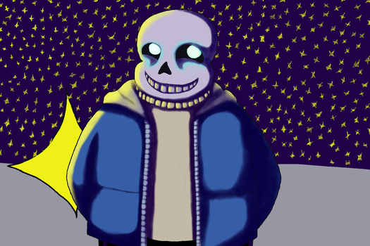 Sans practice by maniac-fangirl