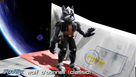(MMD Model) Wolf O'Donnell (Classic) Download by SAB64