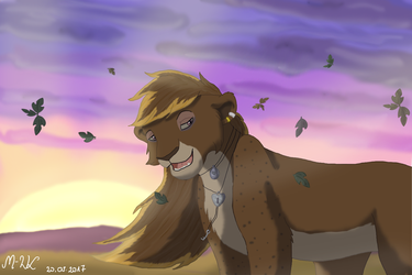 It would be a wonderful day - commission by M-WingedLioness