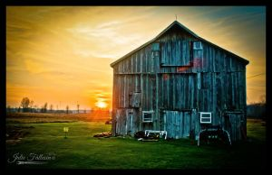 Country Sunset by FallesenPhotography
