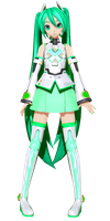[Project Diva X] .: P-Style MG :. by PiettraMarinetta