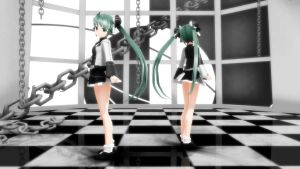 [MMD] .: Two-Faced Lovers :. by Taiyo-P