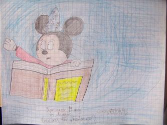 Sorcerer Mickey in danger (request for foxlover35) by Savva911