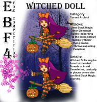 Witched Doll - EBF4 Foe Entry by RivanKrieg