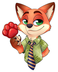 Foxtober - Day 6 by Seoxys6
