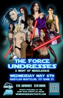 The Force Undresses Poster by AdamTupper