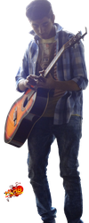 guitarist [without shoes] by XLR8gfx