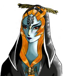 Midna real form by Lethao