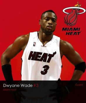 NBA Series: Dwyane Wade by LeBron6