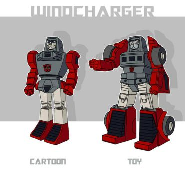 Sunbow-Style Toy-Accurate Windcharger by nadav
