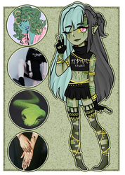[Adopts]: Modern Medusa by SimplyDefault