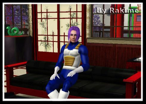 Sims 3: Mirai Trunks by rakime