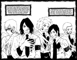 Inked MCR art page by madteaparty