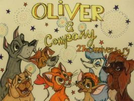 Happy 27 Years Oliver and Company! by SegaDisneyUniverse