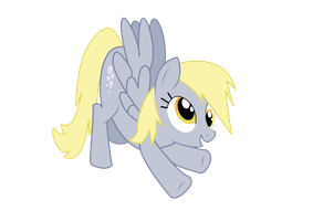 Silly Derpy by NebulonB100