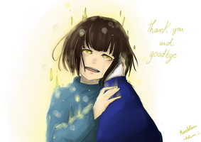Thank you and goodbye by MomoAkemi