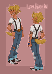 Character Ref: LEON by SlackWater