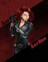 AoU: Black Widow by EmeraldSora