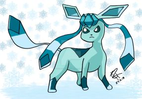 Glaceon by Colorful-Kaiya