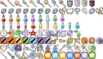Extra 98 Free RPG Icons by 7Soul1