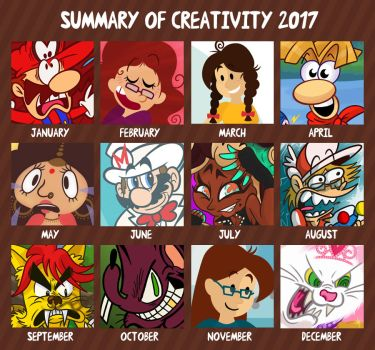Summary of Creativity 2017 by GagaMan