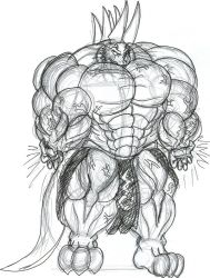 The Muscle Energician EC by EmotionCreator