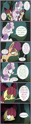 Moody Mark Crusaders 3: Honest Apple Bloom by Slitherpon