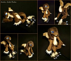 Ryver the Snow Grem2 Plush by The-Plushatiers