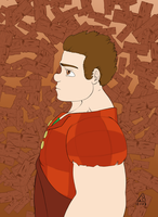 Bust Wreck It Ralph Simple Colors by Phlar1245