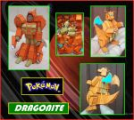 El Pokemon Dragonite es un Transformer de Papel by Paperman2010