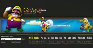 0129_Games_Portal_Header by arEa50oNe