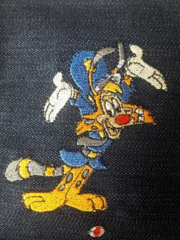Bonkers D Bobcat Embroidery by marvincmf