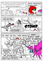 Fighting Tournament Audition Page 4 by DigiDayDreamer
