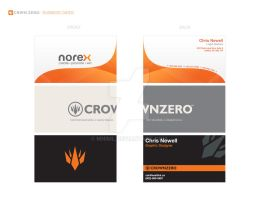 Business Cards Set 1 by mniml
