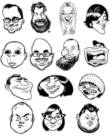caricatures 003 by hamdiggy