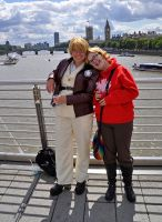 APH cosplay: US + Canada in UK by StarRose17