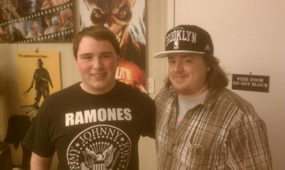 Me and Danny Tamberelli by Headbanger14