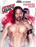 WWE Shinsuke Nakamura and Asuka 2018 Poster by workoutf