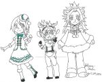 BBS Christmas Trio by Fangirl-Shenanigans