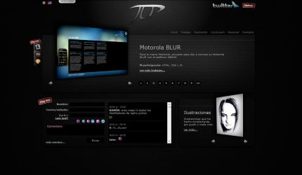 My Personal Website Skin01 by vampipe