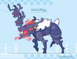 Hiraeth Creature #728 - Wild Effigy by Cosmopoliturtle