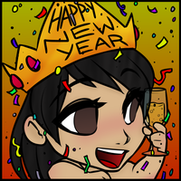 Happy New Year! by RoseandherThorns