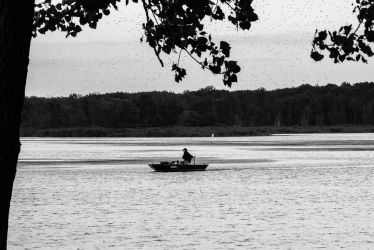 Lonely Boat by MMoreland